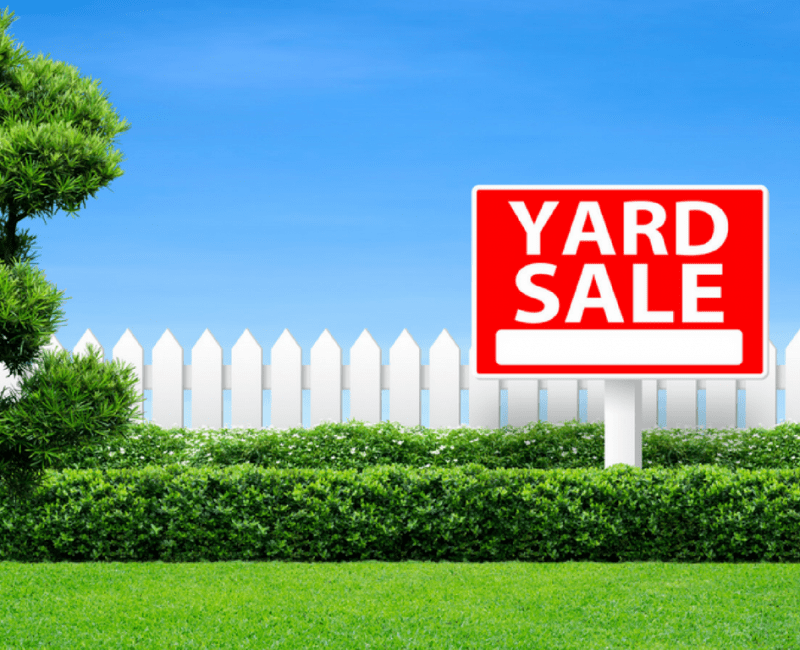 My First Yard Sale And How Bad It Was!