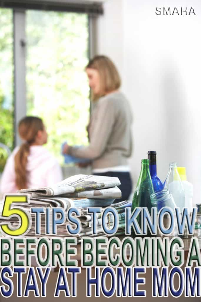 Becoming a stay at home mom can be a stressful transition if you are not financially prepared. Learn how it doesn't have to be with these 5 helpful tips.