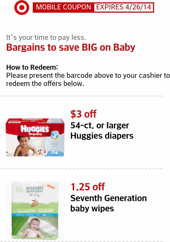 Target mobile coupon codes april 2018