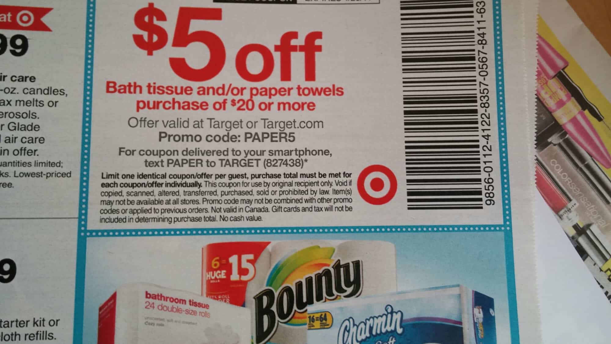 Target coupon code august 2018