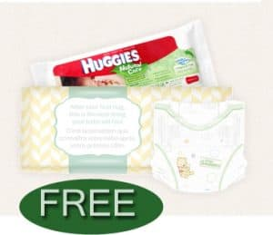 Free sample of huggies