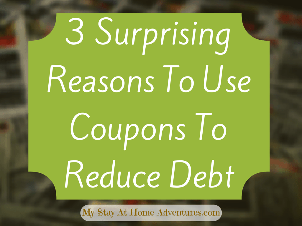3 Surprising Reasons To Use Coupons To Reduce Debt