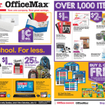 Office Depot/Office Max Back To School Sale for 07/06/2014