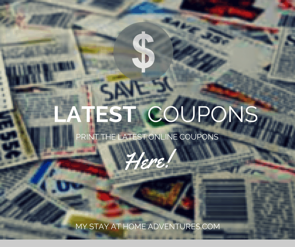 Latest Online Coupons For 10/21/2014