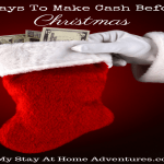 5 Ways To Make Cash Before Christmas