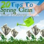 20 Tips To Spring Clean Your Home Finances