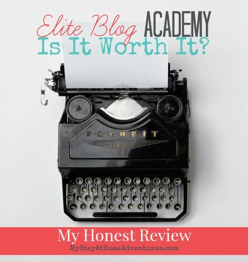 Elite Blog Academy – My Honest Review fb ad