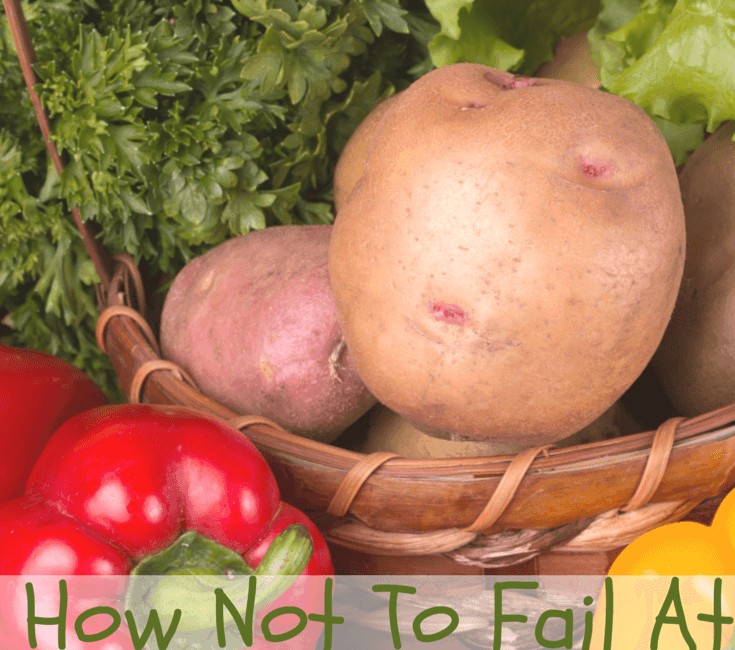 How Not To Fail At Gardening