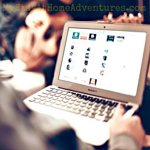 shopping online fb ad