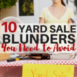 10 Yard Sale Mistakes You Need To Avoid This Season