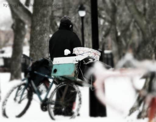 homeless post ad