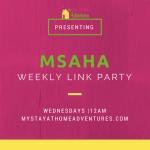MSAHA Link Party 30