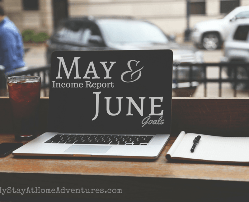 May Income Report & June Goals