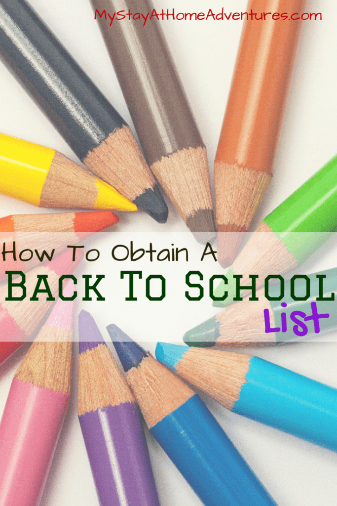 How To Obtain a Back To School List- Not having a back to school list can be frustrating. The BTS deals are happening and without a back to school list your chances of overspending are high.