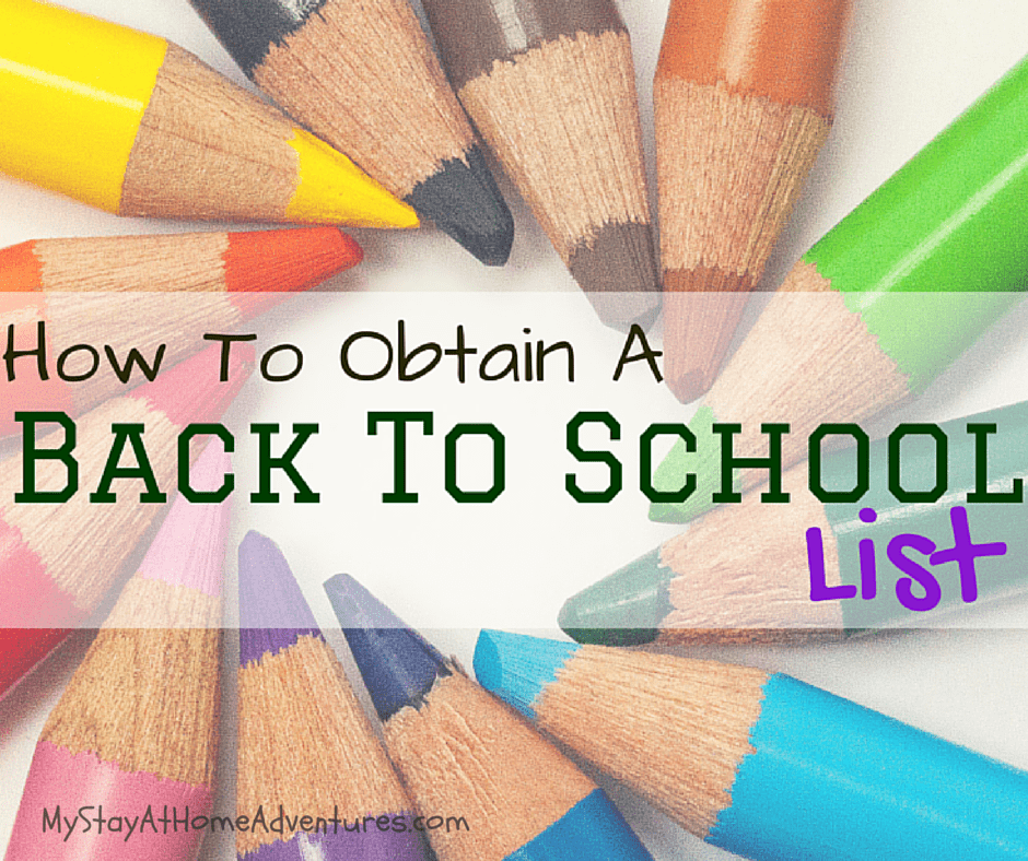 Not having a back to school list can be frustrating. The BTS deals are happening and without a back to school list your chances of overspending are high.