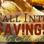 Fall Into Savings This Season