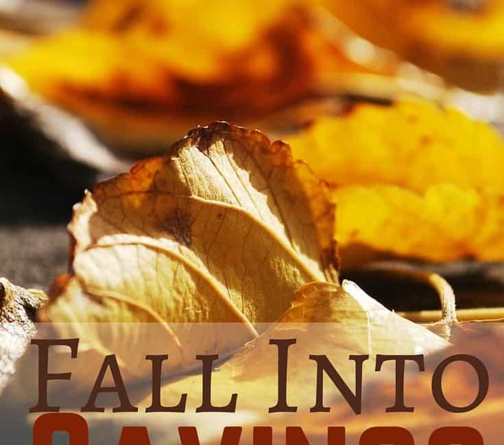 Fall Into Savings This Season