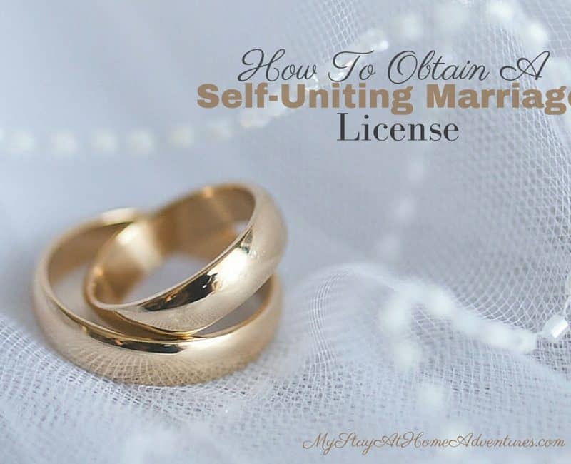 How To Avoid Self Uniting marriage License Legal Problems