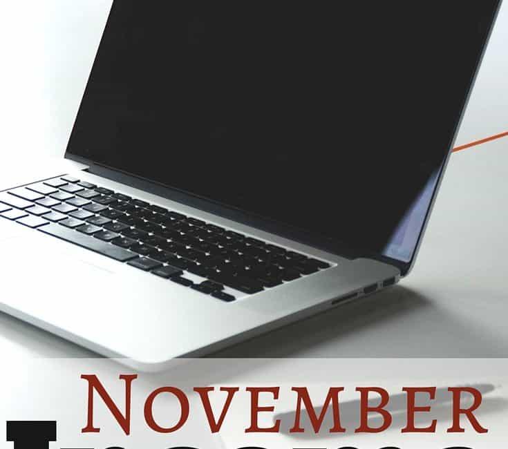 November Online Income Report & December Goals