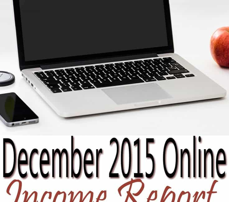 December 2015 Online Income Report & January 2016 Goals