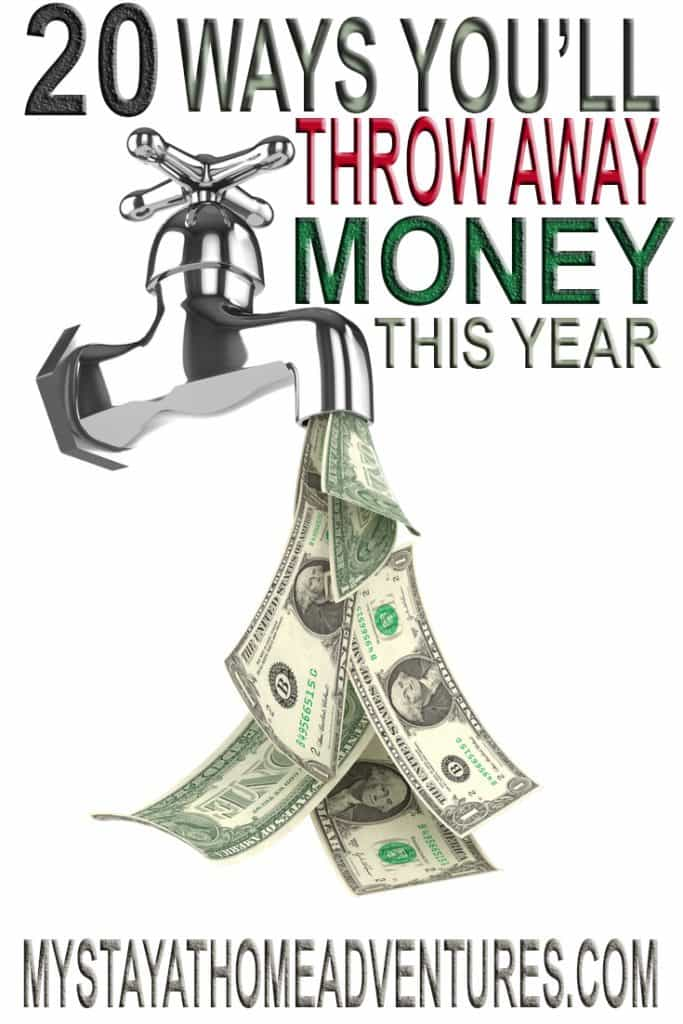 There are over 20 ways you will be wasting money this year and some of them will shock you. Learn what they are and how you can't stop wasting your money.