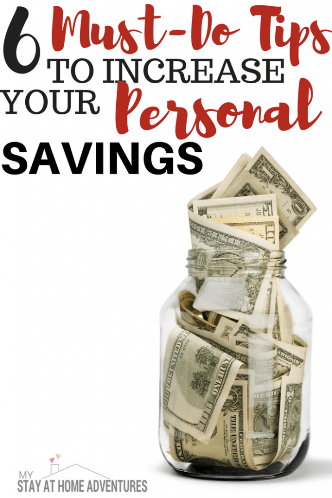 Planning to save money this year? For this year check out these 6 must-do tips to increase your personal savings in no time!