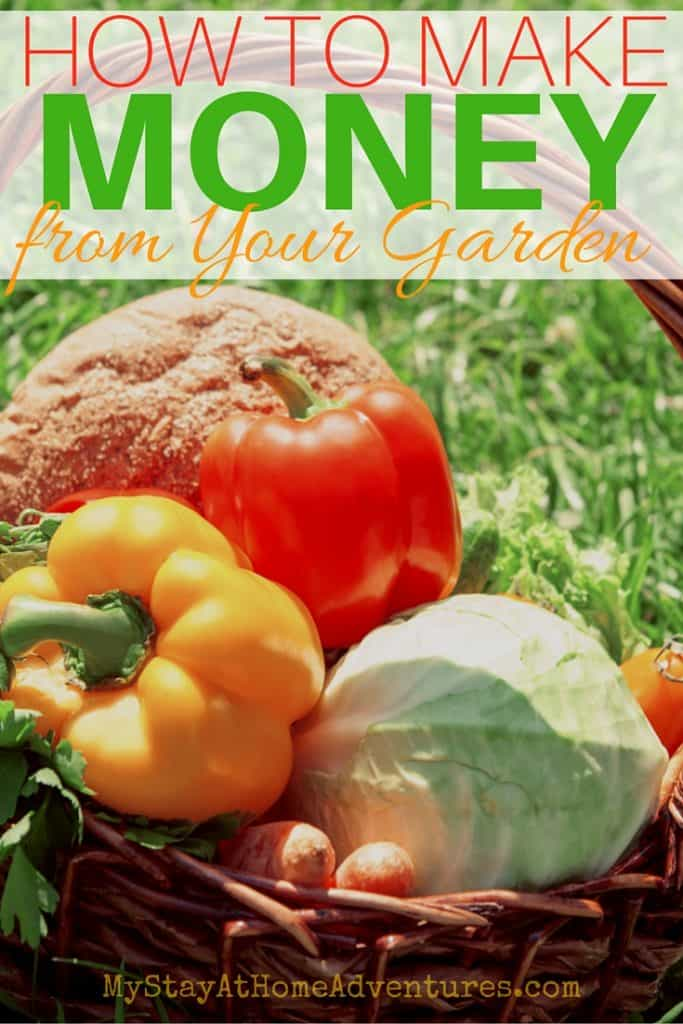 You love your garden but you would love to make extra cash too. Check out how to make money from your garden this season with this ideas!
