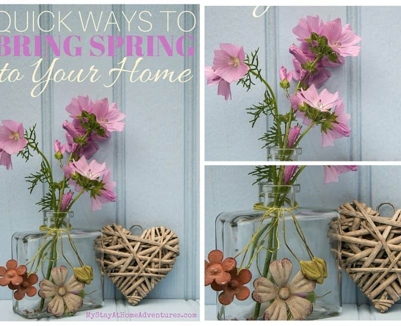 Quick Ways to Bring Spring to Your Home