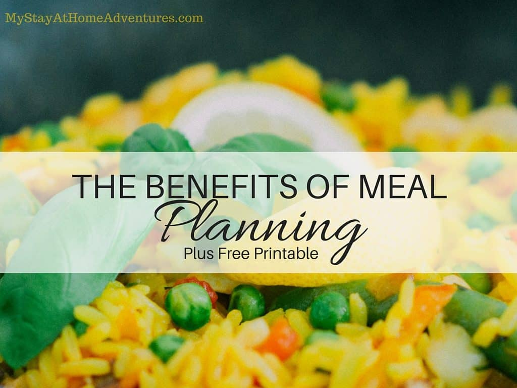 The Benefits of Meal Planning(1)