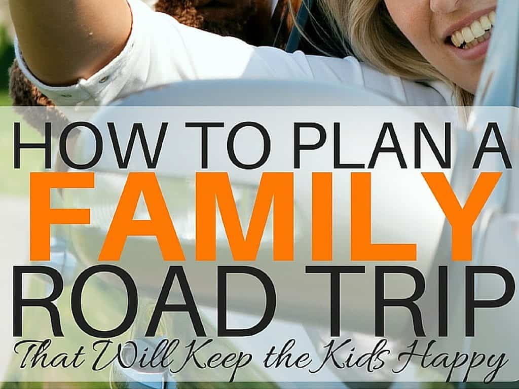 Planning a family road trip? Here are some helpful ways to keep your kids happy on your next family road trip.