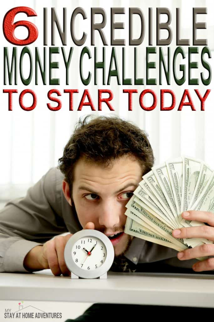 Looking a great way to motivate you to save money? We have 6 incredible monthly money challenges you need to start today!