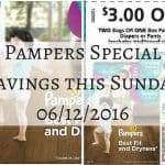Pampers Diapers June Coupon Offers #PampersSavings