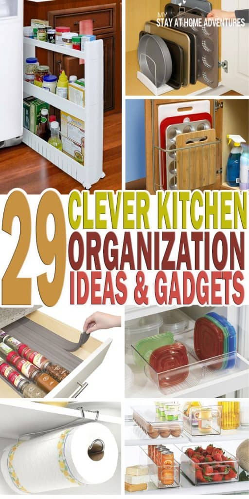Kitchen Cabinet Gadget Ideas