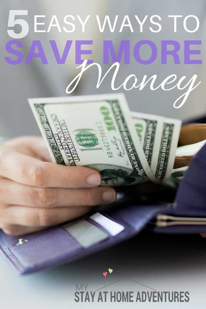 Who doesn't want to save more money? No matter how much you have, it always seems like you need more and now you can with these new ways to save more money.