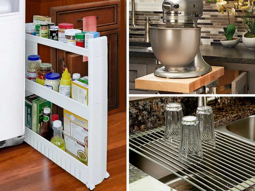 29 clever kitchen organization ideas and gadgets for Clever kitchen storage ideas