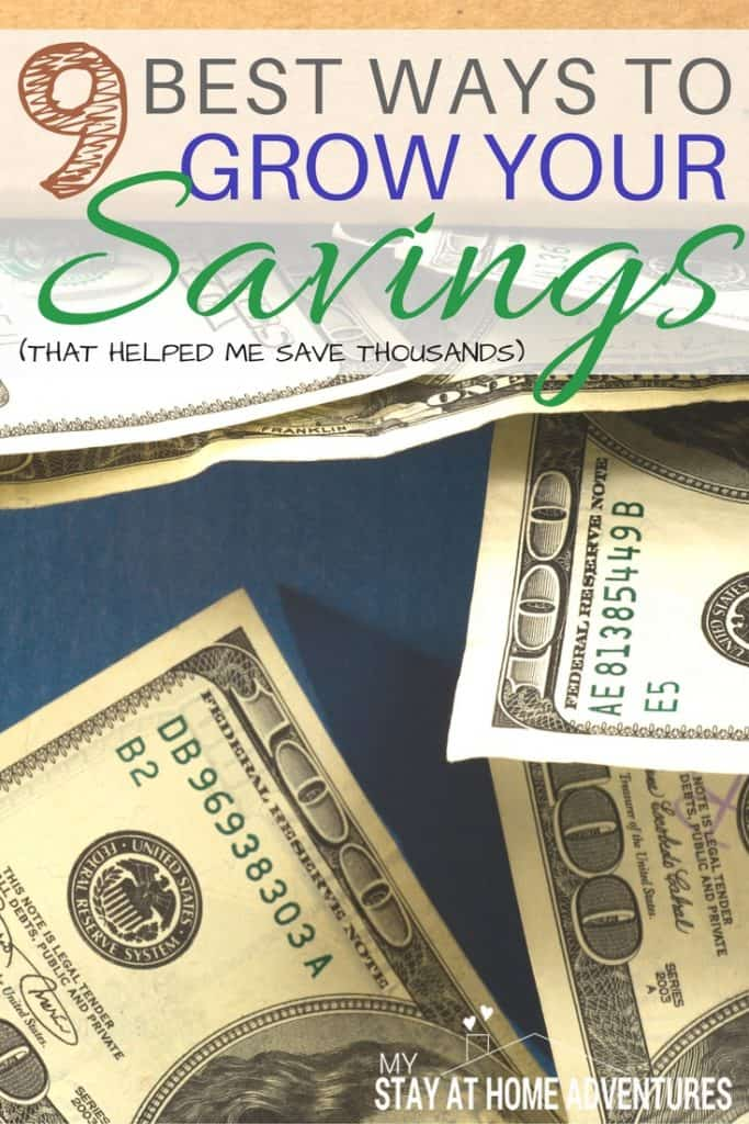 Best ways to grow your savings my stay at home adventures for The best way to save for a house