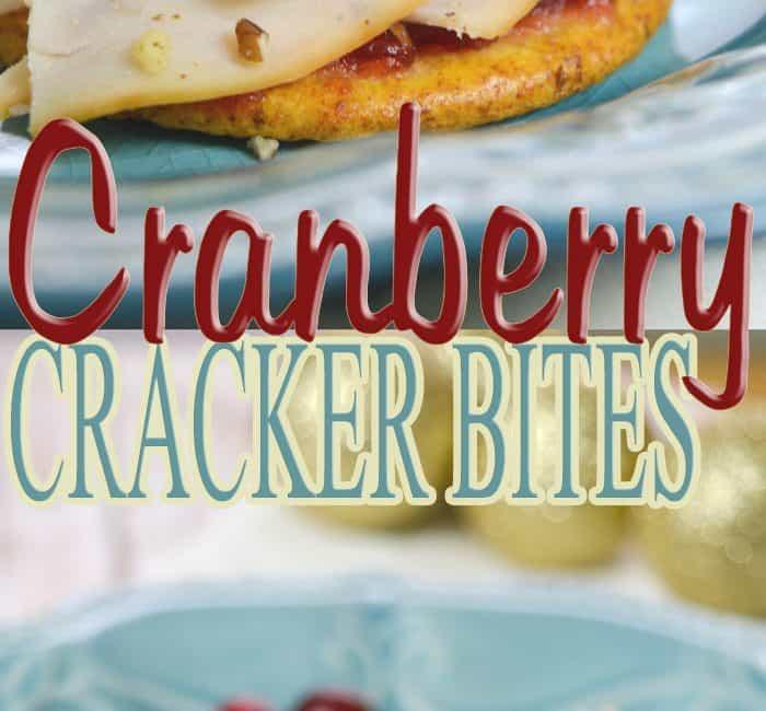 Cranberry Cracker Bites