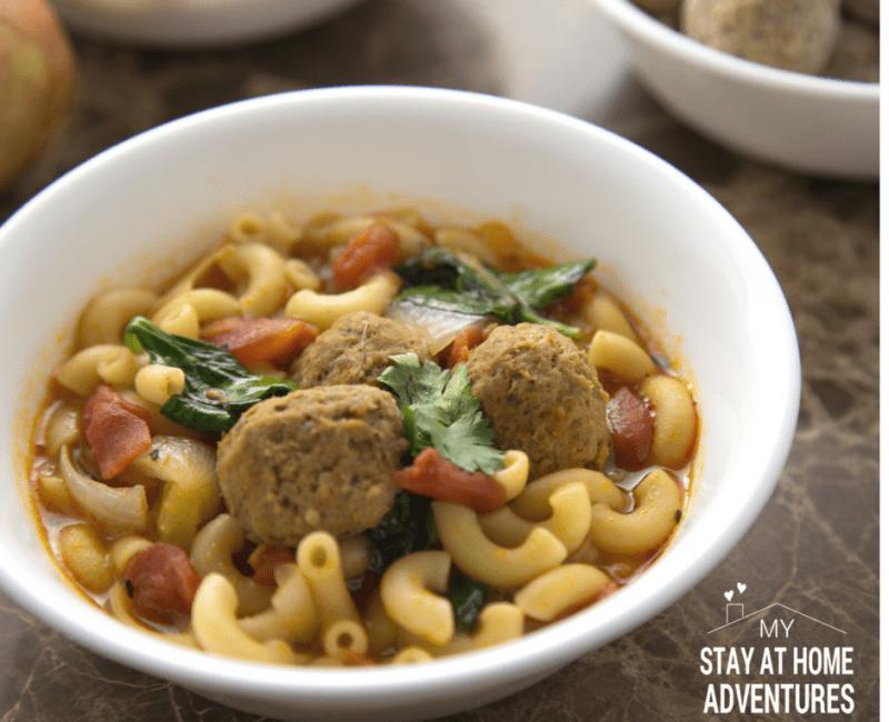 Frozen Italian Meatball Soup
