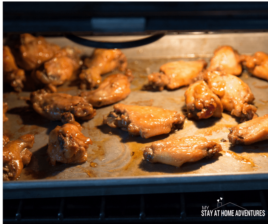 Sweet sour instant pot chicken wing recipe my stay at for Chicken recipes for the instant pot