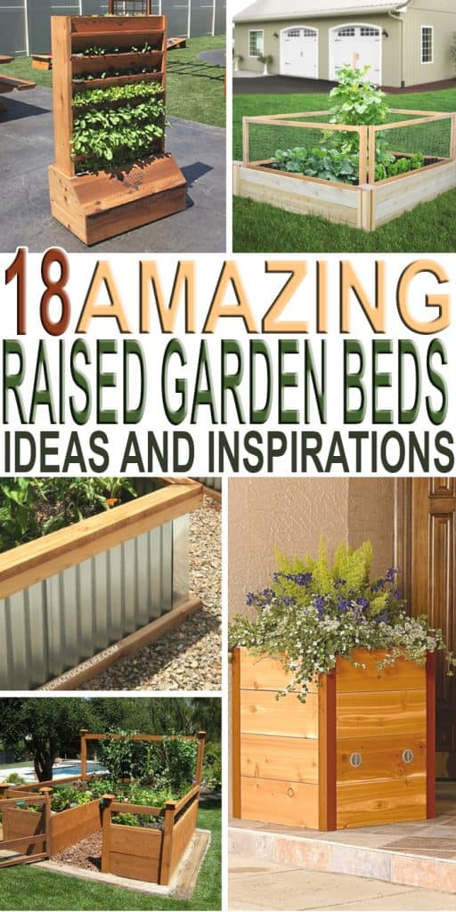 Spring is on the horizon and guess what time it is?? Gardening time!! Check out these 18 raised garden bed ideas and inspiration to help you this season!