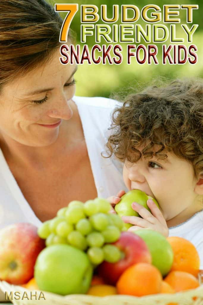 Kids love to snack and snack and snack. Check out these 7 best budget friendly snacks for kids that they your kids and your wallet will love!