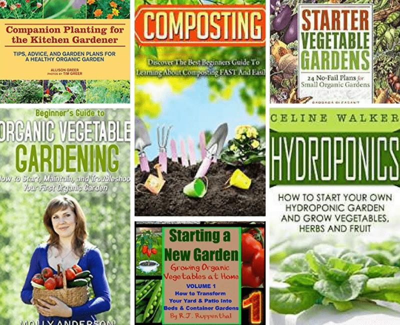 28 Beginner Gardener Books We Must Read