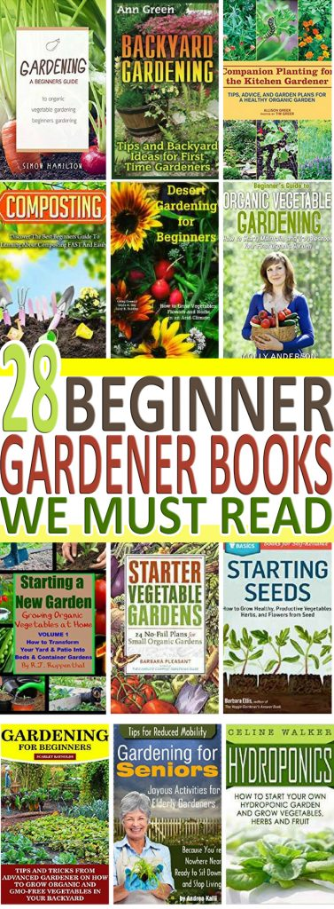 Starting a garden this season? Check out these best beginner gardener books you must read before starting your garden this season.