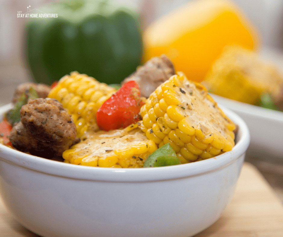 An amazing Italian Sausage and Corn skillet recipe that is full of fresh flavor. Learn how you can make this quick, easy, and affordable corn recipe today