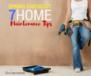 Spring Checklist: 7 Home Maintenance Tips