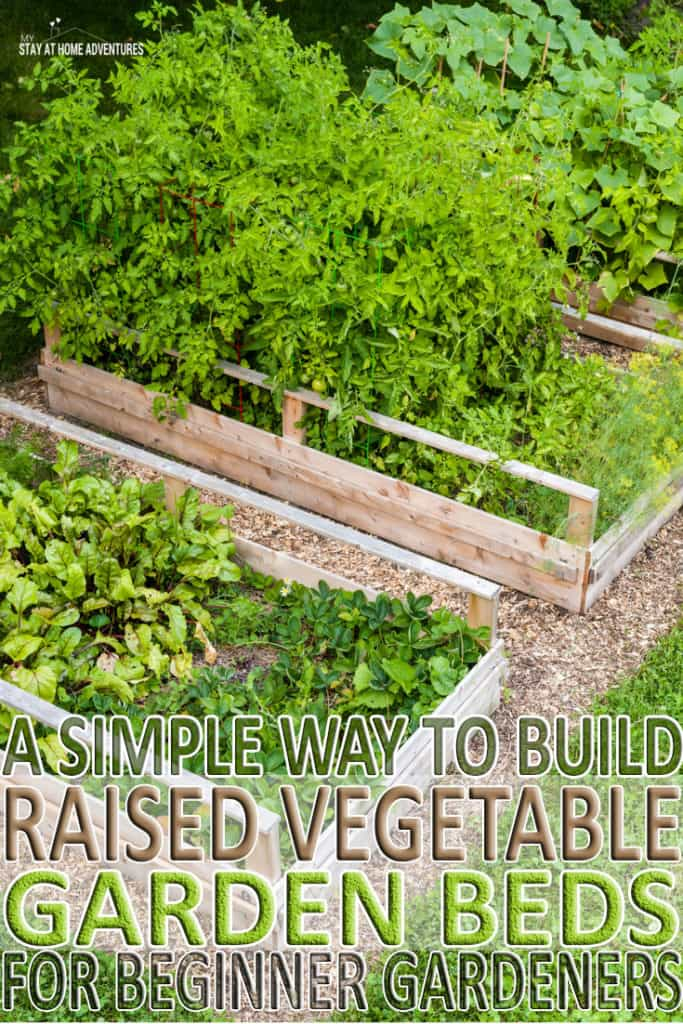 New to gardening? Learn how to build raised vegetable garden beds and the benefits of using them. Step by step guide as well as samples our favorite beds.