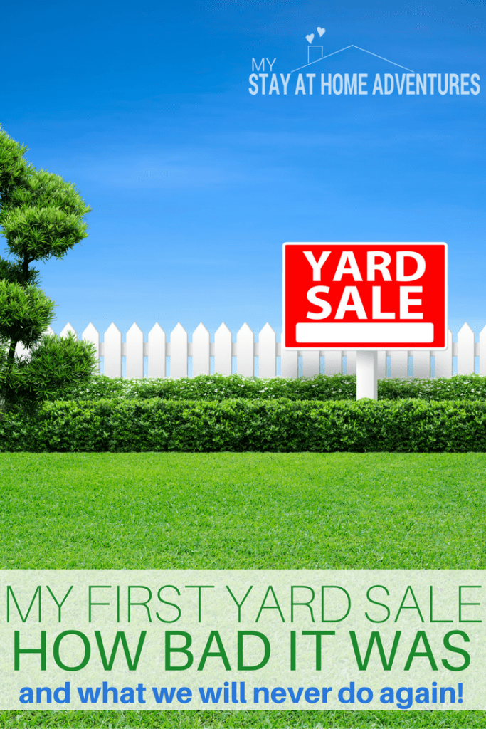 I finally got to host my first yard sale and what experience is was for a first timer like me! Learn how to start a yard sale and what mistakes to avoid!