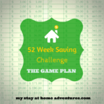 52 Week Saving Challenge – The Game Plan