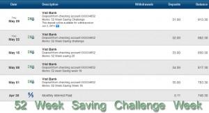 52 saving week 22