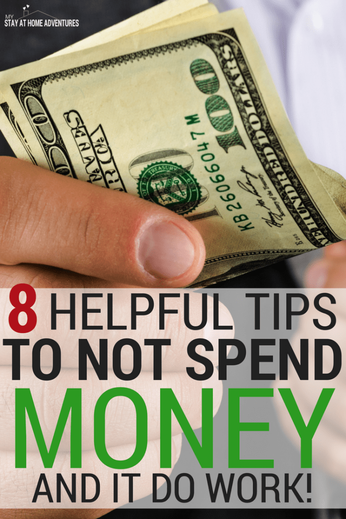 I have a terrible habit of overspending money. I am not perfect but I decided to follow this helpful tips to not spend money and they worked.